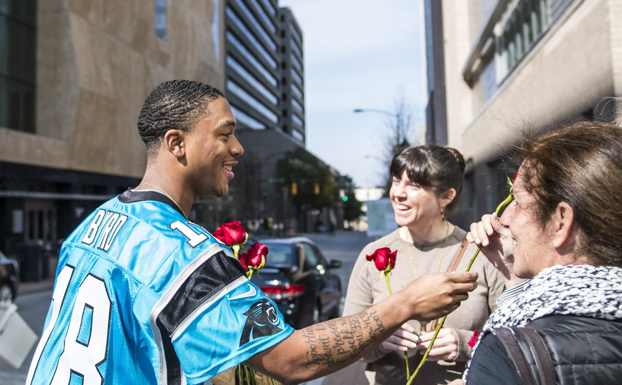 Carolina Panthers Off the Field: Random Act of Kindness Week